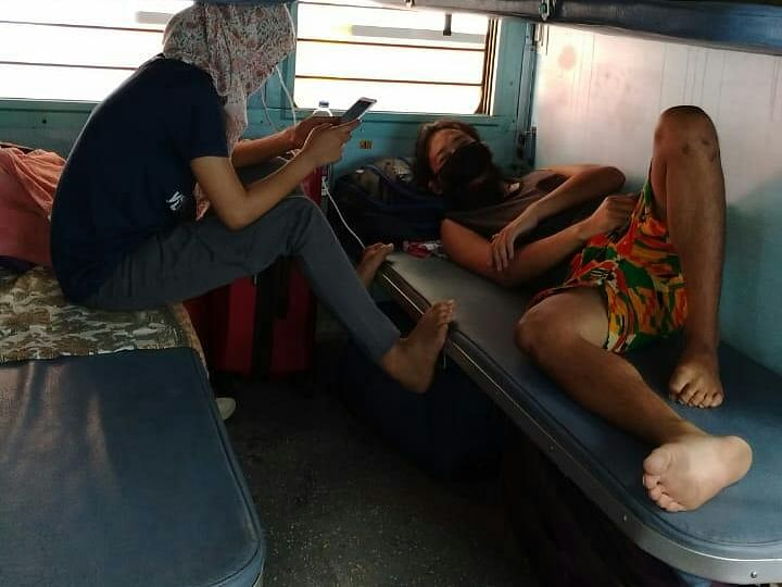 Manipur: Train carrying 1,188 stranded persons embark from Punjab