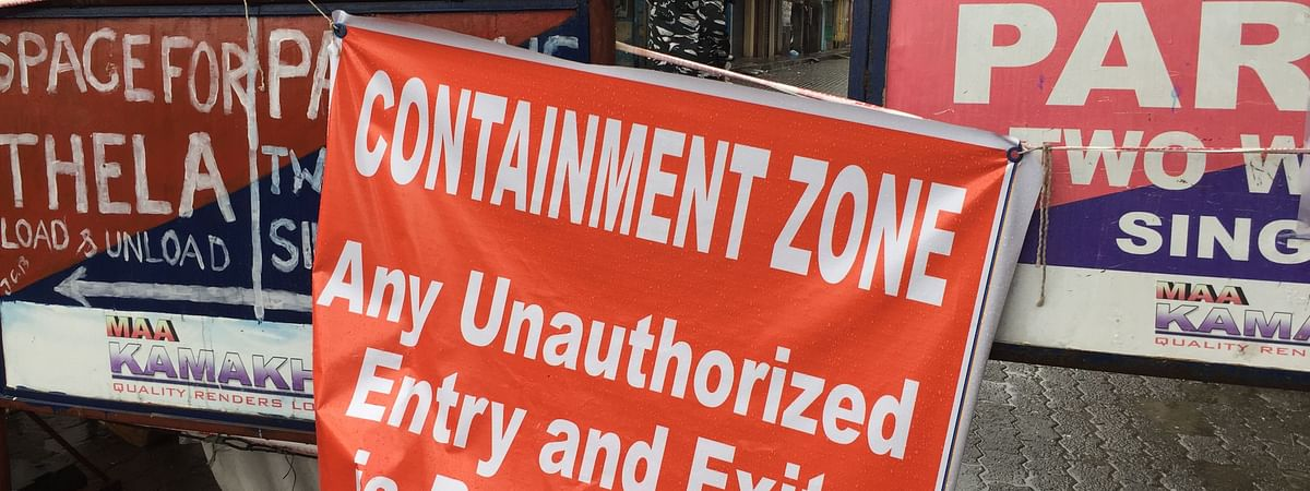 All unauthorised entry and exit of vehicles and persons into and from the notified containment zones are prohibited