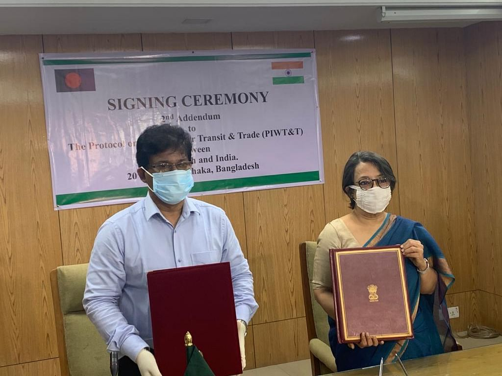 Tripura's Gumti river approved as India-Bangladesh protocol route