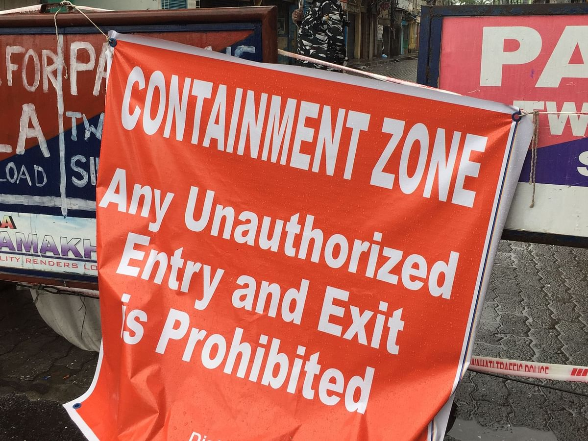 Assam COVID: 'Containment zone' tag removed from 4 Guwahati areas