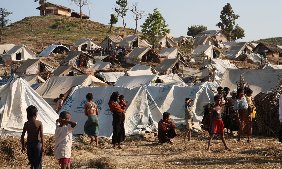 Twin COVID-19 cases detected at Rohingya camp in Bangladesh