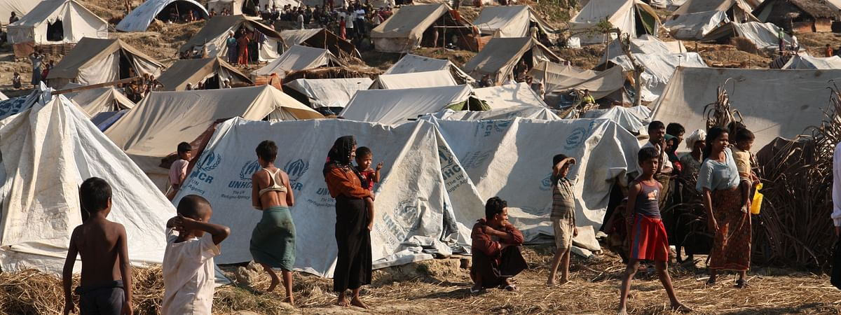 A Rohingya inmate along with another person were detected as COVID-19 positive in the refugee camp, said a senior Bangladeshi official