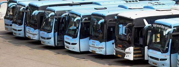 The 10 buses were used to send around 300 migrant workers back to their homes in Lucknow, Gorakhpur, Bhadoi and Allahabad