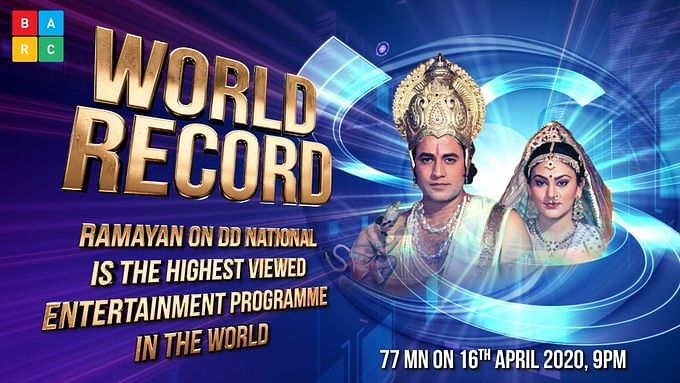 Amid lockdown, 'Ramayana' becomes most watched show in the world