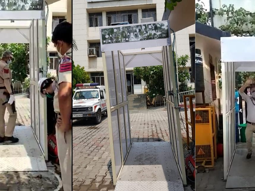 COVID-19: Startup from IIT-Guwahati develops disinfectant tunnel