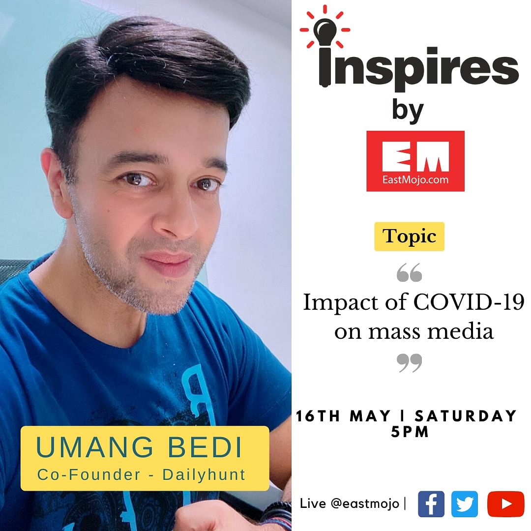 'Inspires by EM' will air on all social media platforms of EastMojo on May 16 (Saturday) at 5 pm