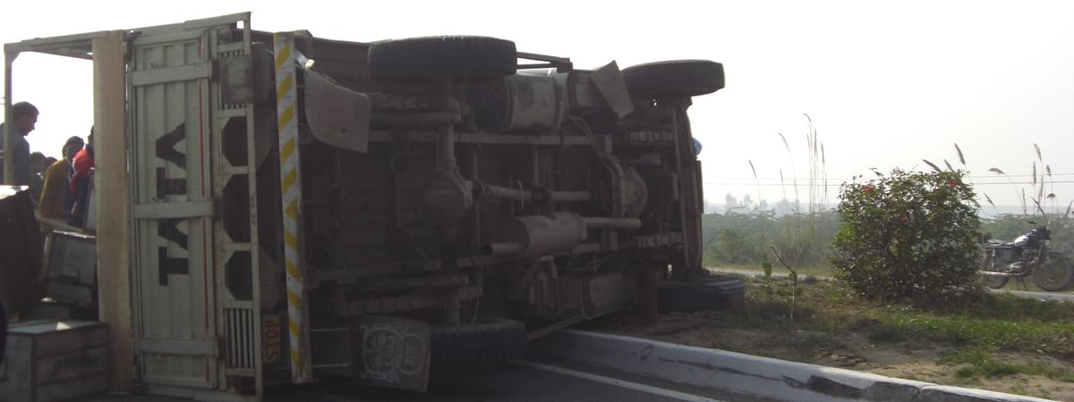 The trailer truck carrying the migrant workers was coming from Rajasthan when it collided with another truck that was heading from Delhi to Madhya Pradesh