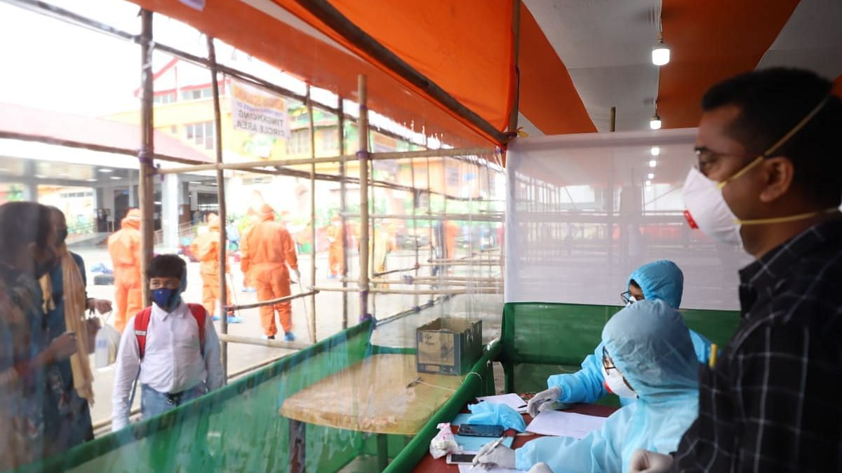 The four persons who showed symptoms have been sent to Jokai quarantine centre for COVID-19 test