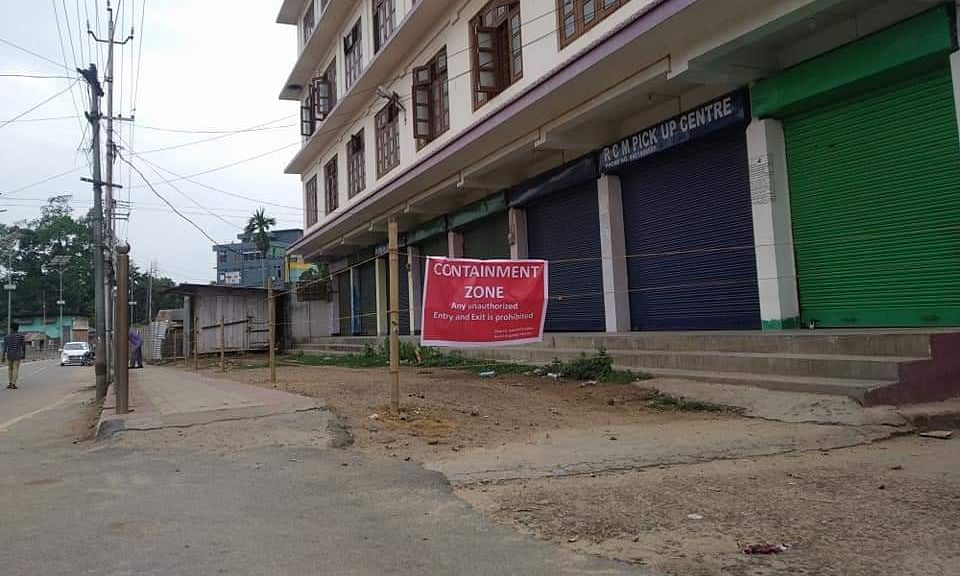Assam: Hotel Singhason area in Diphu declared as containment zone