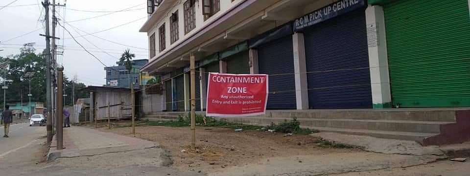 Hotel Singhason premises declared as containment zone in Diphu