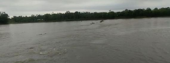 Some of the major rivers like Krishnai, Jinjiram and Dudhnoi are in spate and the water level continues to rise following heavy rainfall in state