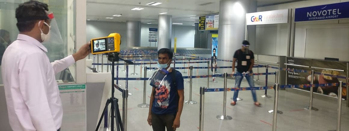 All air passengers to be mandatorily scanned on arrival. All symptomatic passengers from within Assam will be taken to zonal/district screening camps