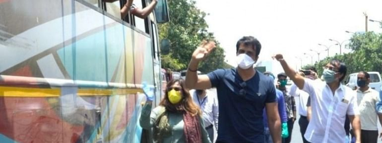 Through the helpline number, one can directly reach out to actor Sonu Sood's team for any queries related to COVID-19 pandemic and the subsequent lockdown