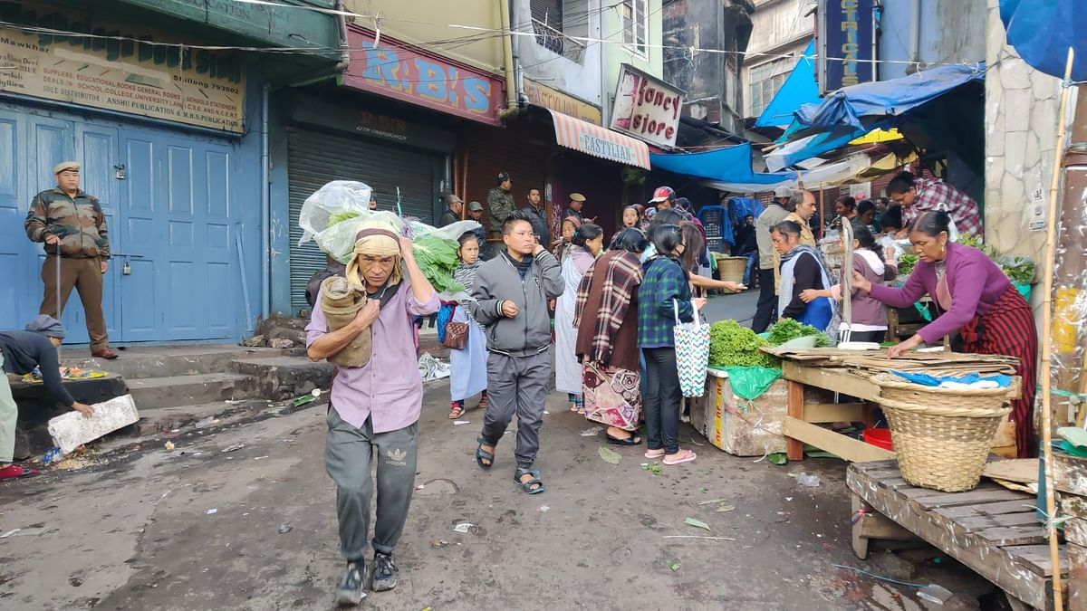 Iewduh, the oldest market in Meghalaya, will continue to remain closed