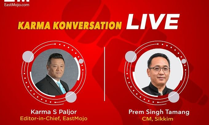 EastMojo live with Sikkim's CM PS Golay
