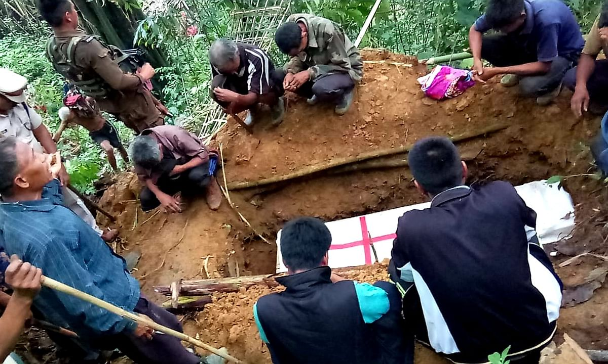 Protesters told to maintain social distancing, Lukham laid to rest
