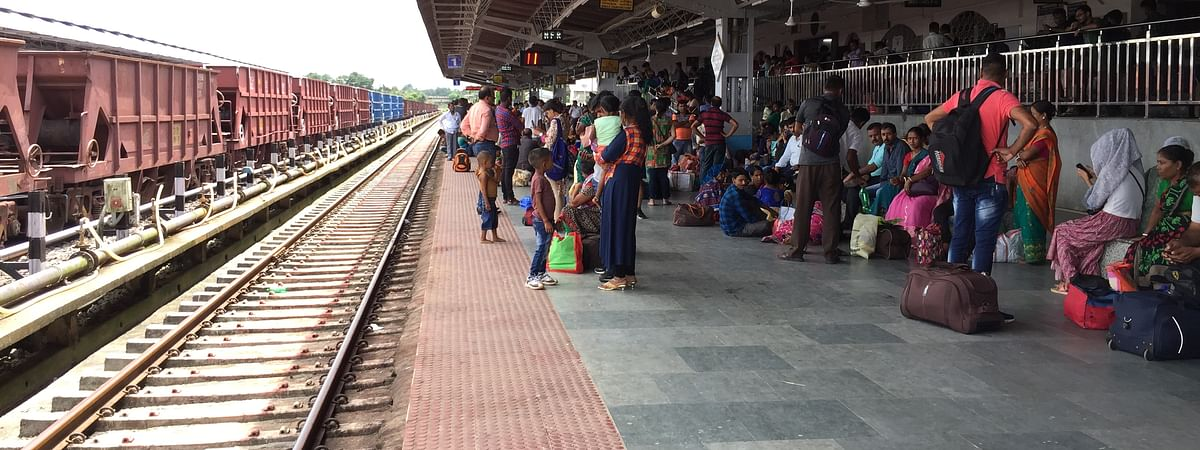 Manipur government evacuated a total of 1,200 stranded citizens by providing a special train from Chennai on Sunday
