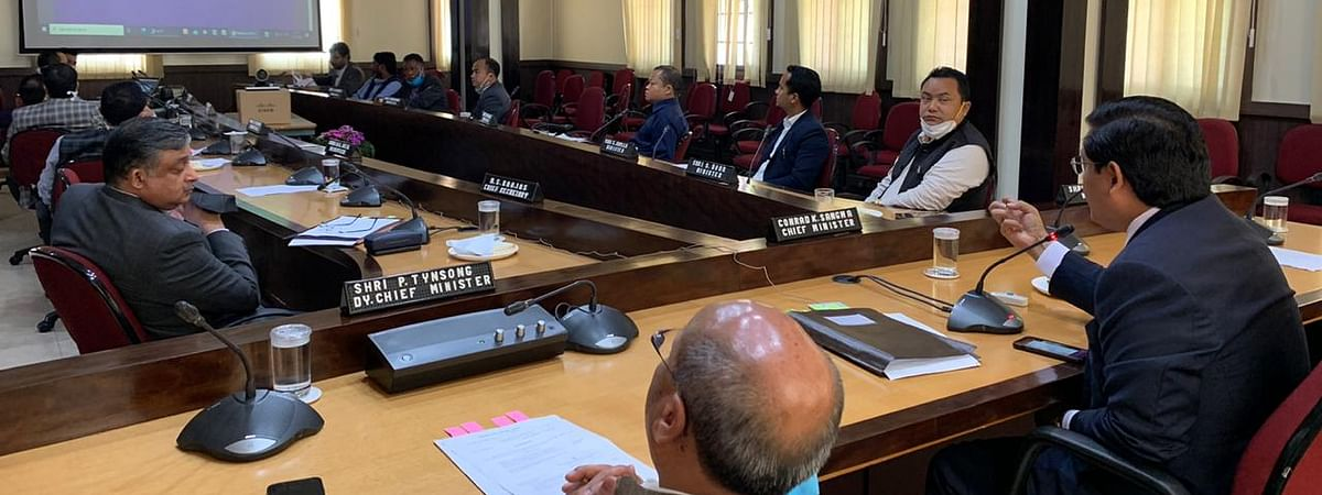 Meghalaya Cabinet met  to discuss the CM's Economic Task Force on Friday