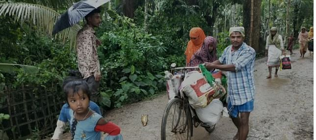 Flood affected people are shifting to safer locations