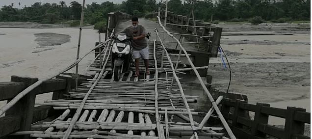 RCC bridges have been collapsed in different places in state due to flood
