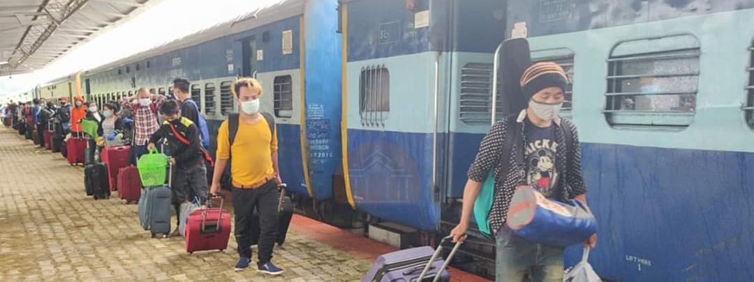 Three special trains have arrived in Manipur till date