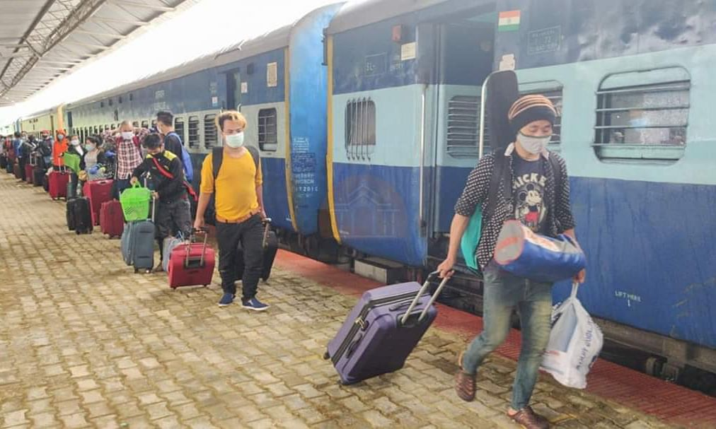 20 more Shramik Special Trains will reach the Northeast very soon