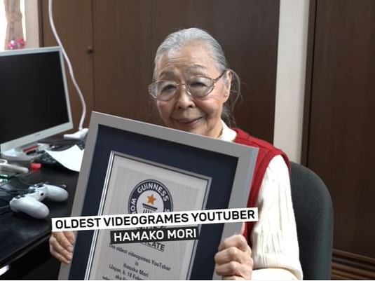 Japan's 90-year-old woman is world's oldest gaming YouTuber