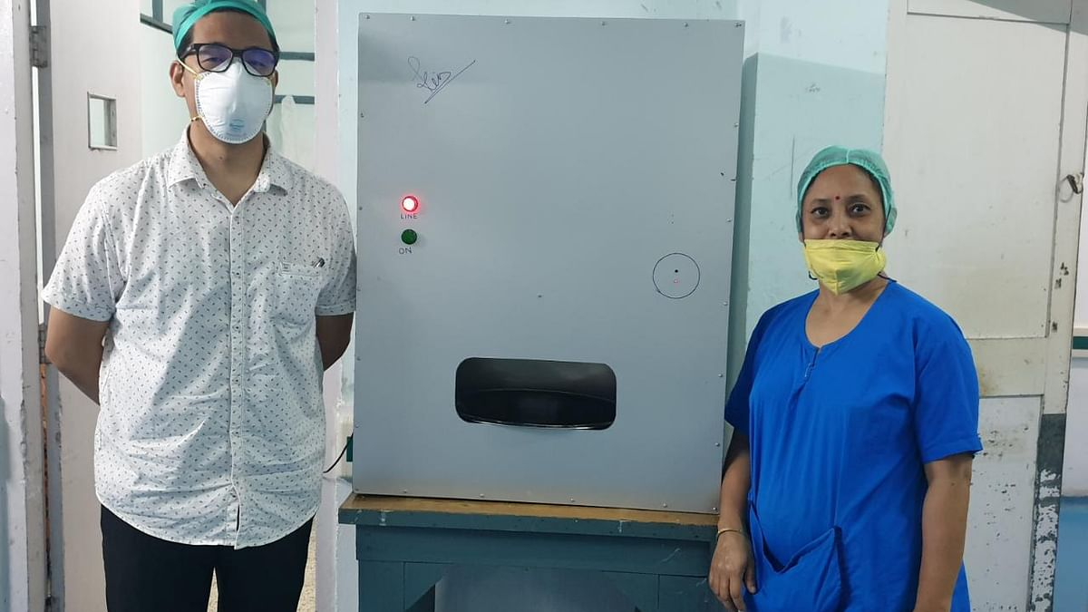 The only machine built so far has been installed at Ramakrishna Mission Hospital in Itanagar