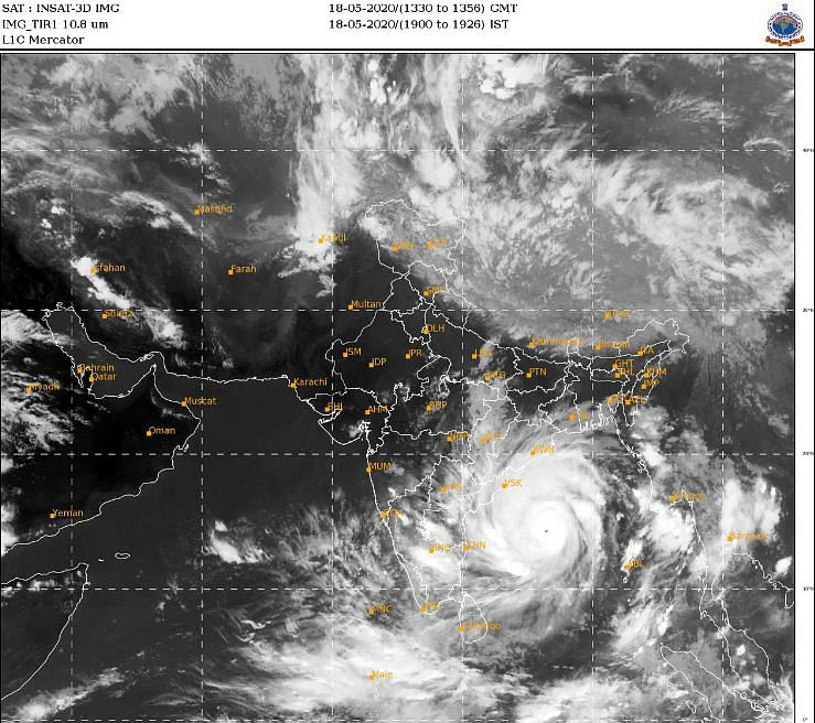 Super Cyclone Amphan is very likely to move through Hatiya Islands (Bangladesh) during 20 May 2020 as an extremely severe cyclone storm