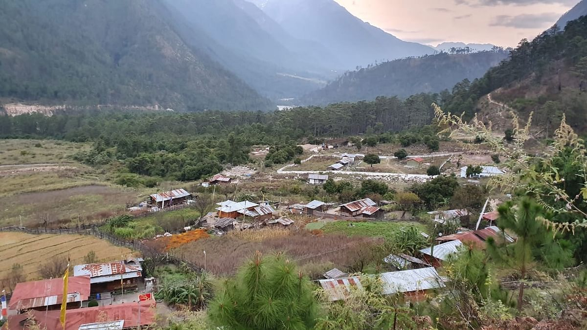 Kaho village in Arunachal Pradesh's Anjaw district, also known as the last village on Indian territory