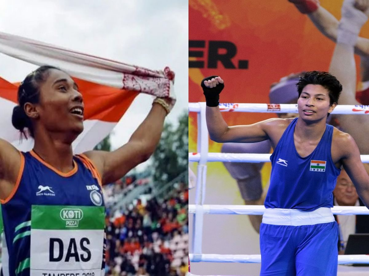 Hima Das nominated for Khel Ratna & Lovlina Borgohain for Arjuna