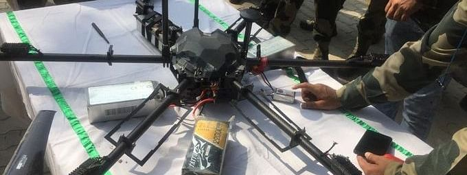 The drone was shot down in the early morning hours of Saturday