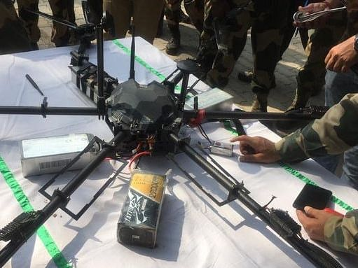 Pakistani drone shot down by BSF near Jammu & Kashmir border