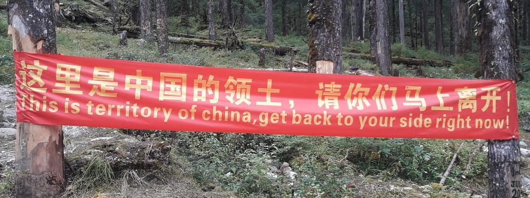 This is the same valley where last year there were reports of Chinese troops entering 12 km inside Indian territory