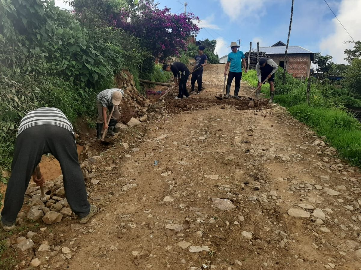 Manipur: Locals raise Rs 8 lakh to construct 2-km road in Ukhrul