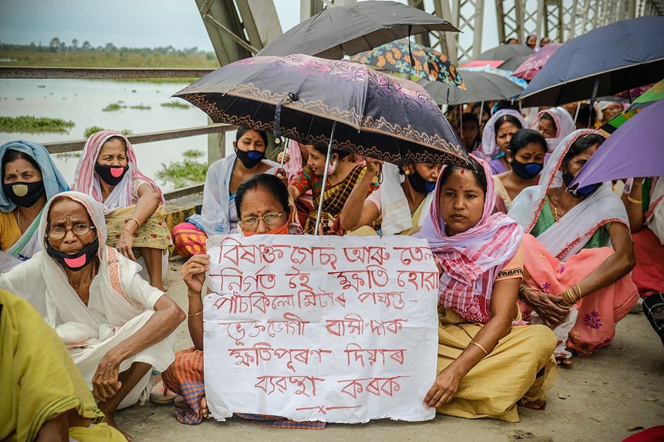 Locals even staged a protest on June 4 against OIL for the ecological and livelihood destruction
