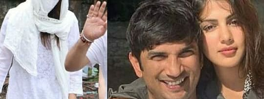 Actress Rhea Chakraborty and deceased actor Sushant Singh Rajput were reportedly in a relationship
