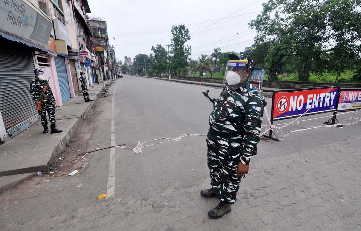 The state government had imposed a complete lockdown in 11 of the 31 wards in Guwahati from 9 pm of Tuesday
