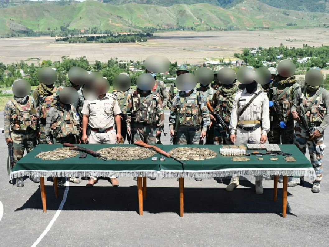 Manipur: Huge cache of ammunition, drugs recovered