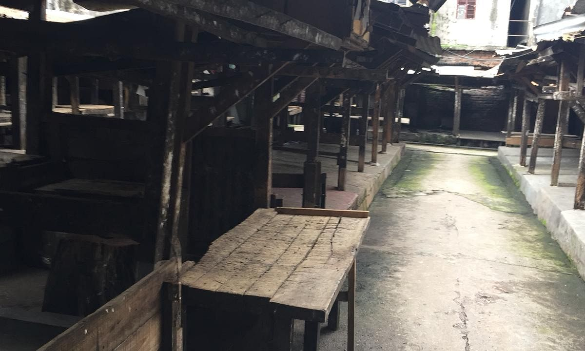 Meat section at Iewduh market will continue to be closed