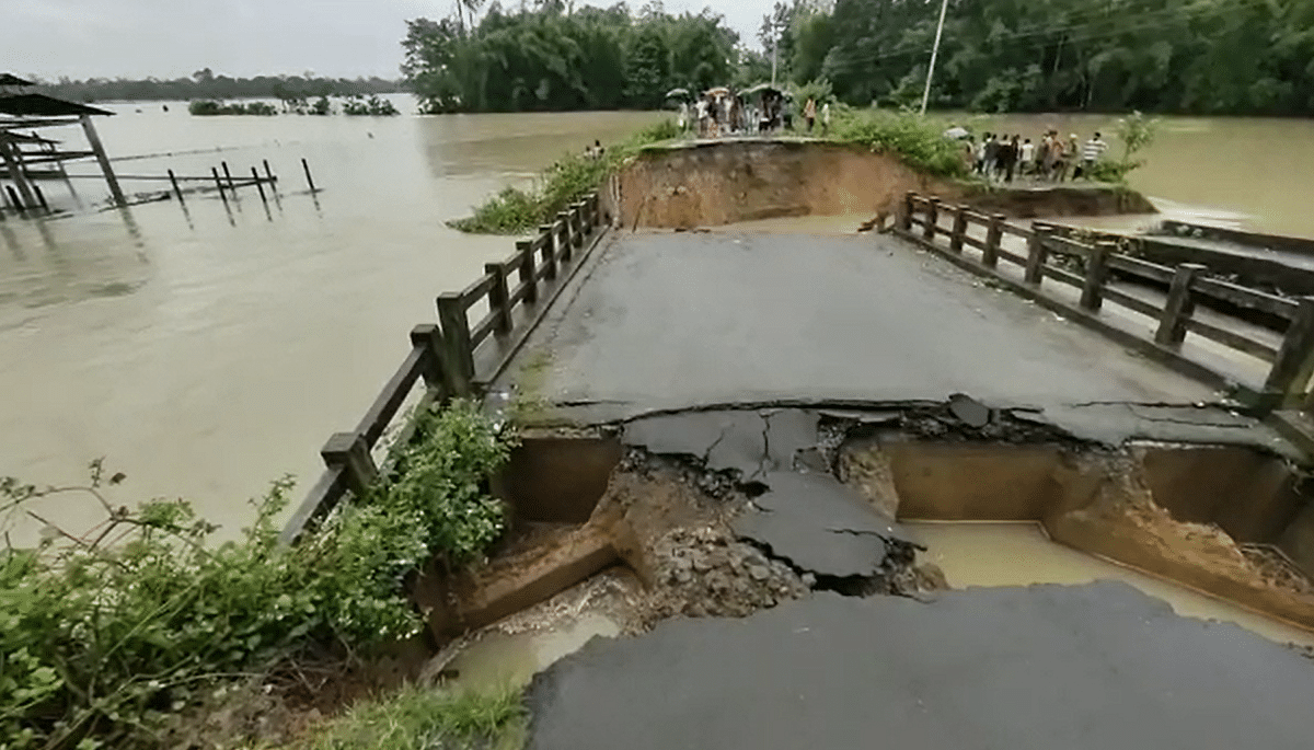 Damages came in the form of infrastructure as well