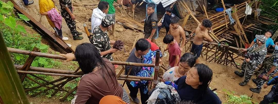 The body of the minor was retrieved from under the debris and brought to R K Mission hospital on Thursday morning