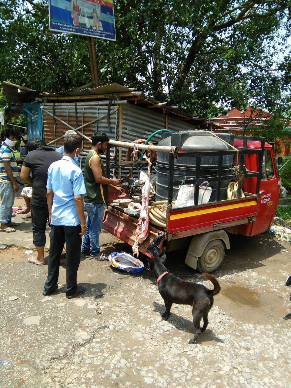 GMC alleged that majority of meat vendors in Guwahati were violating government-approved norms