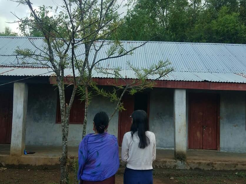 Manipur: Woman-mother happy to be home after COVID19 recovery