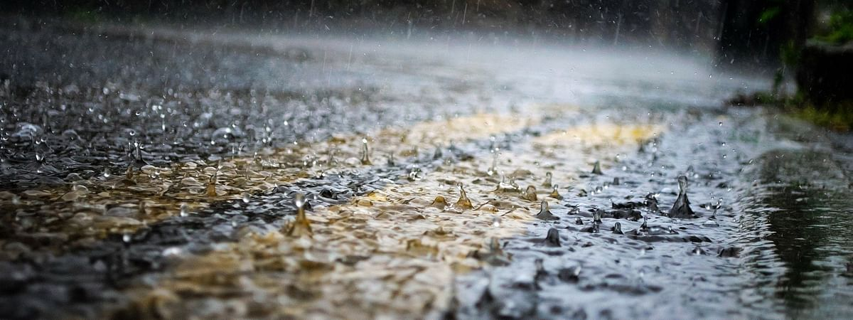 Jalgaon received heavy rainfall on Saturday night and continued for two hours