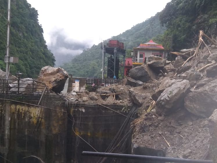 In Pictures: Landslides affect connectivity in North Sikkim