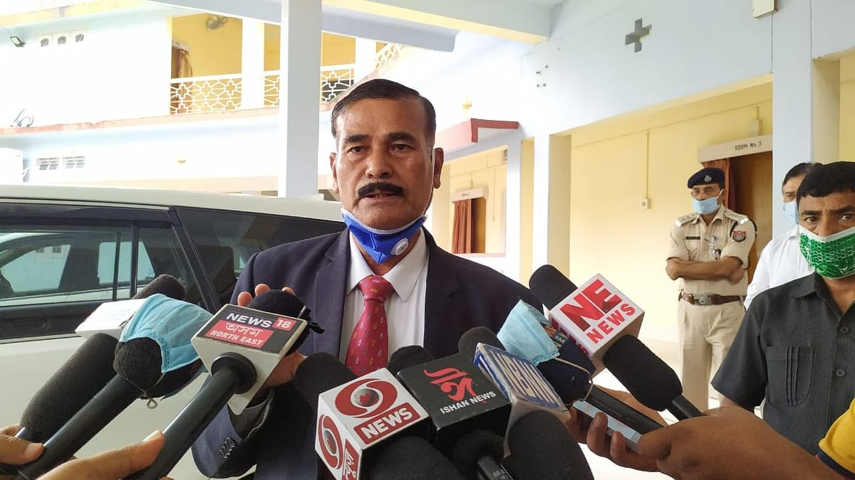 A two-member delegation of the AHRC, led by its chairperson Justice T Vaiphai and member Deva Kumar Saikia, arrived in Kokrajhar on Thursday