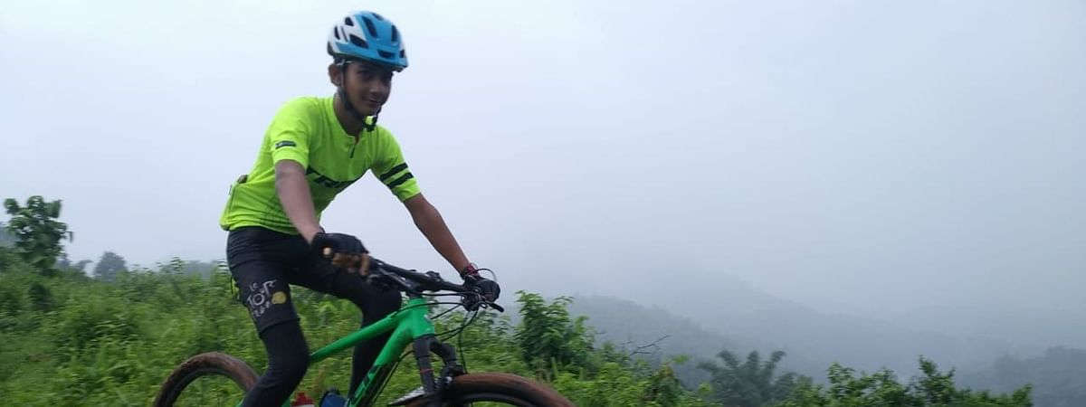 Malav Dutta is an MTB enthusiast
