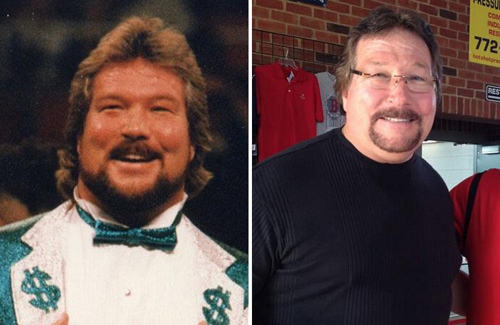 "WWE superstar ""The Million Dollar Man"" Ted DiBiase"