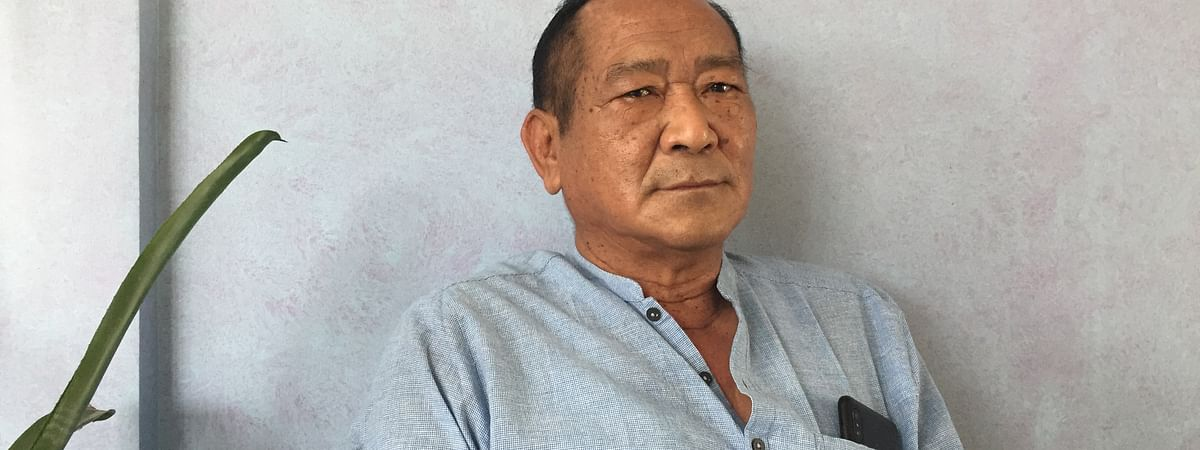 National People's Party's (NPP) Manipur unit chief Thangminlien Kipgen